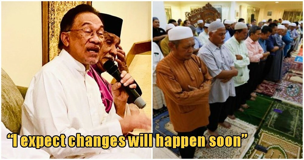 Changes In Government Might Start Happening Today, According To 'Betrayed' Anwar - WORLD OF BUZZ