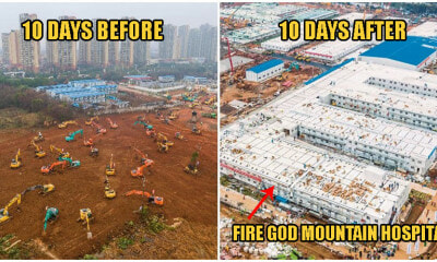 China Builds New Hospital In Wuhan Under 10 Days; Houses 1000 Beds & Opens Today! - WORLD OF BUZZ 1