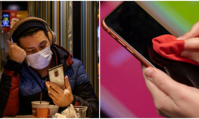Cleaning Your Phone Might Be The Most Effective Way To Protect Yourself From Coronavirus - WORLD OF BUZZ 3