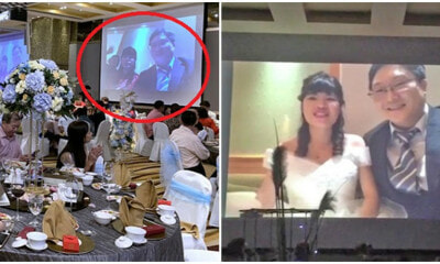 Couple Who Visited Wuhan Livestreams Themselves At Their Own Wedding From Quarantine Suite - WORLD OF BUZZ