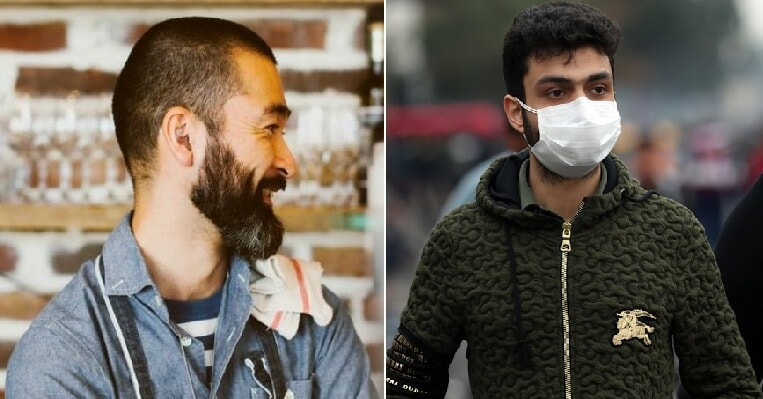 Covid-19: Men Warned To Shave Off Their Beards As Facial Hair Can Make Masks Useless - WORLD OF BUZZ 3