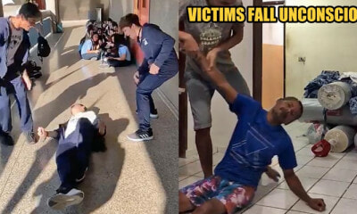 Dangerous TikTok Prankers Swoop Their Legs from Behind and Make Victims Fall Flat on The Ground - WORLD OF BUZZ
