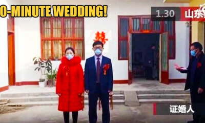 Doctor Gets Married in 10 Minute Ceremony, Rushes Back to Hospital To Treat Wuhan Virus Patients - WORLD OF BUZZ 3