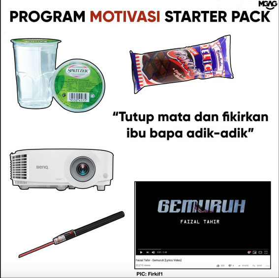 Does Anyone Remember The 'Kem Motivasi' We Had At School? - WORLD OF BUZZ 1