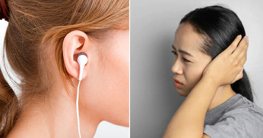 28yo Woman Suddenly Becomes Deaf After Using Earphones for Prolonged Hours & Sleeping Late - WORLD OF BUZZ