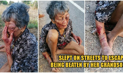 Drunk Grandson Mercilessly Abuses His Grandmum, Forcing Her To Run From Home & Sleep On Streets - WORLD OF BUZZ