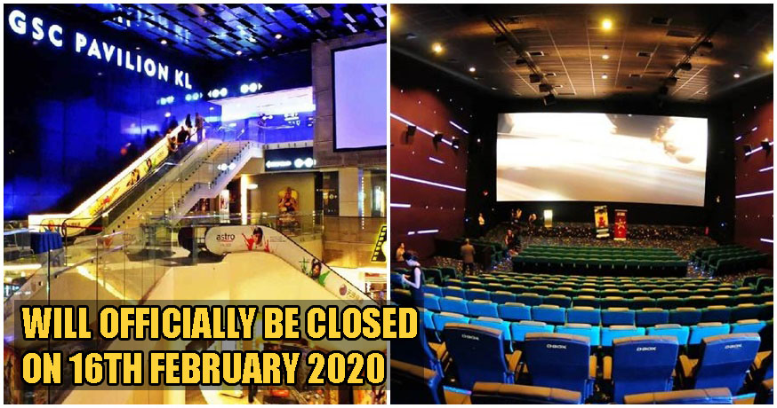 GSC Cinemas Pavilion Will Be Closing Down For Good After 13 Years Of Business - WORLD OF BUZZ