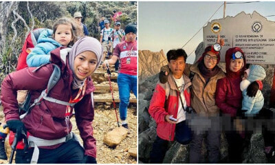 Inspiring M'sian Mum Successfully Hikes Mount Kinabalu With Her 3yo Child In Just 19 Hours! - WORLD OF BUZZ 4