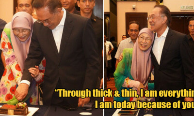 It's Anwar & Wan Azizah's 40th Anniversary Today and They're Still As Sweet as Ever! - WORLD OF BUZZ 1