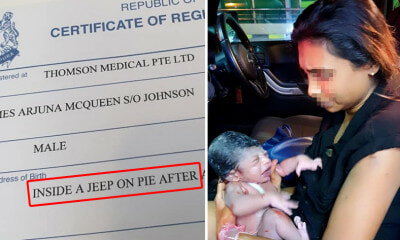 "Woman Gives Birth in Car On the Way to Hospital, Birth Cert Shows He Was Born ""Inside a Jeep On Pie"" - WORLD OF BUZZ"