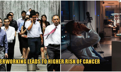 Johor Records 25,460 Cancer Cases in M'sia, Doctors Say Its Because Of Stress & Overworking - WORLD OF BUZZ 2
