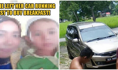 Kelantan Mother Almost Loses Her Son After Thieves Steal Her Car While She Left It Running - WORLD OF BUZZ