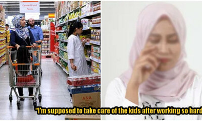 Kind M'sians Pay Mum's Bills After Husband Scolds Her For Buying Groceries To Feed Their Kids - WORLD OF BUZZ