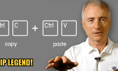 Larry Tesler, The Genius Behind The Cut-Copy-Paste Function Dies At Age 74 - WORLD OF BUZZ