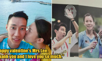 Datuk Lee Chong Wei Dedicates Valentine's Day Post to H - WORLD OF BUZZ