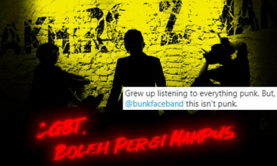 Malaysian Band Bunkface Tells LGBT Community To 'Go Die' In New Song - WORLD OF BUZZ 1