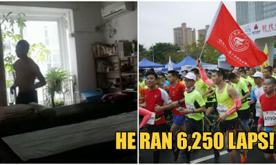 Man Stays At Home Due to Wuhan Virus, Exercises by Running 50km Around Tables in His House - WORLD OF BUZZ