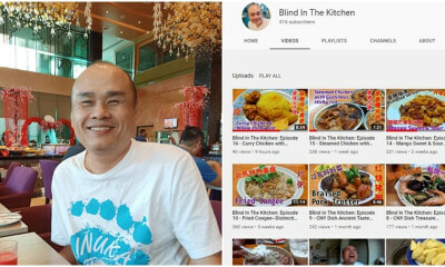 Meet Mr Low, A Blind Chef With His Own Youtube Channel! - WORLD OF BUZZ 5