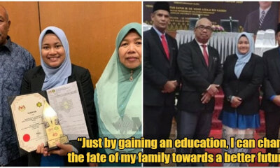 Meet Nuraini, The Daughter of a Garbage Truck Driver & a STPM Top Student - WORLD OF BUZZ