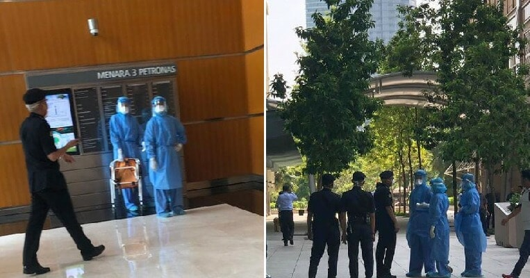 MOH Confirms Suspected Wuhan Virus Case in KLCC After Photos Of Hazmat Team There Go Viral - WORLD OF BUZZ 4