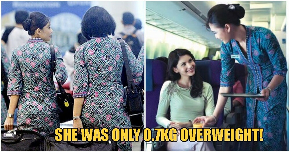 "M'sian Air Stewardess Was ""Inhumanely"" Sacked For Being 0.7kg Over Airline's Weight Standard - WORLD OF BUZZ 4"