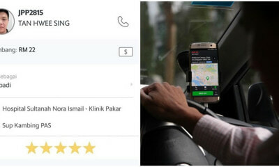 M'sian Grab Driver Finds Out Rider Was Just Diagnosed With Cancer, Gives RM22 Ride For Free - WORLD OF BUZZ
