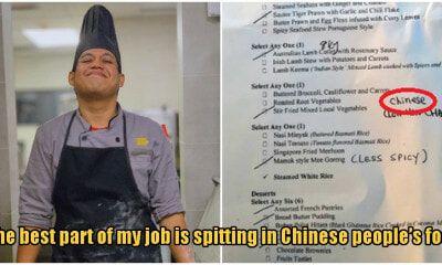 M'sian Grand Hotel Chef Spits In Chinese Customer's Food, Says Its His Favourite Part Of The Job - World Of Buzz