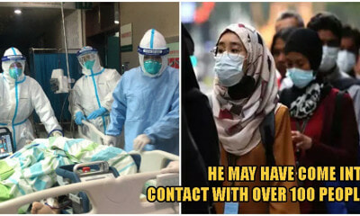 M'sian Man With Coronavirus May Have Exposed 100s of People In Kedah & Kelantan To The Disease - WORLD OF BUZZ