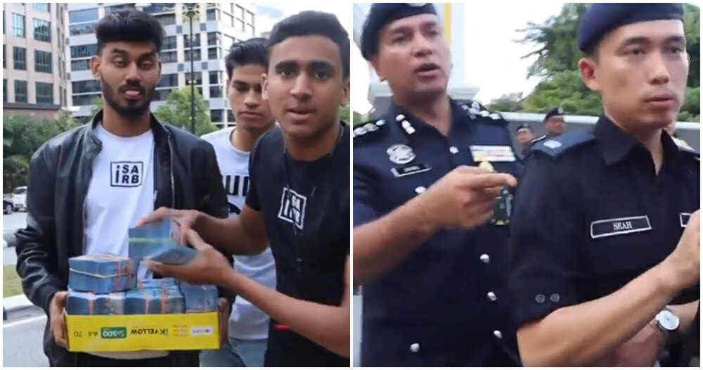 M'sian Youtuber Arrested For Distributing RM10,000 To Crowd Waiting Outside Istana Negara - WORLD OF BUZZ 4
