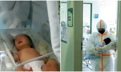 Newborn is the Youngest Coronavirus Patient Who Recovered WITHOUT Medication! - WORLD OF BUZZ 4