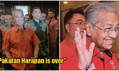 """Pakatan Harapan Is Over""; New Govt Said To Consist PAS, UMNO, Bersatu, Amanah & PKR Members - WORLD OF BUZZ 2"