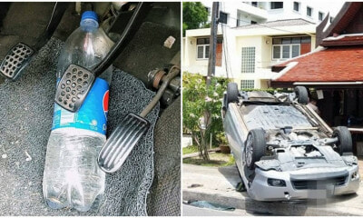 PDRM: Keeping Water Bottles In Your Car Could Lead To Deadly Road Accidents - WORLD OF BUZZ