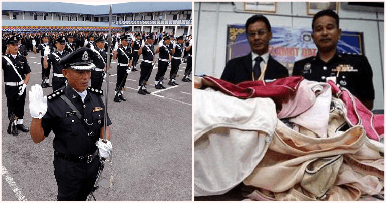 PDRM Officer Arrested For Breaking & Entering To Steal Colleague's Bras & Panties - WORLD OF BUZZ 1