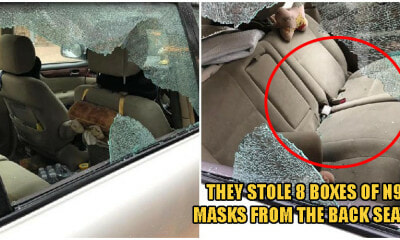 People Are Now Breaking Into Locked Cars To Steal Boxes of FACE MASKS Amid Supply Shortage - WORLD OF BUZZ