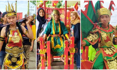 Photos: This Is How One Indonesian Town Celebrates Chap Goh Mei, With A Lavish Parade & Incredible Feats - WORLD OF BUZZ