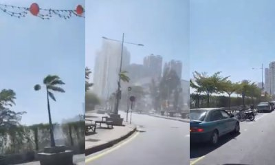 Rare Dust storm Hits Penang's Gurney Drive, Images Of The Phenomenon Caught On Video - WORLD OF BUZZ 4