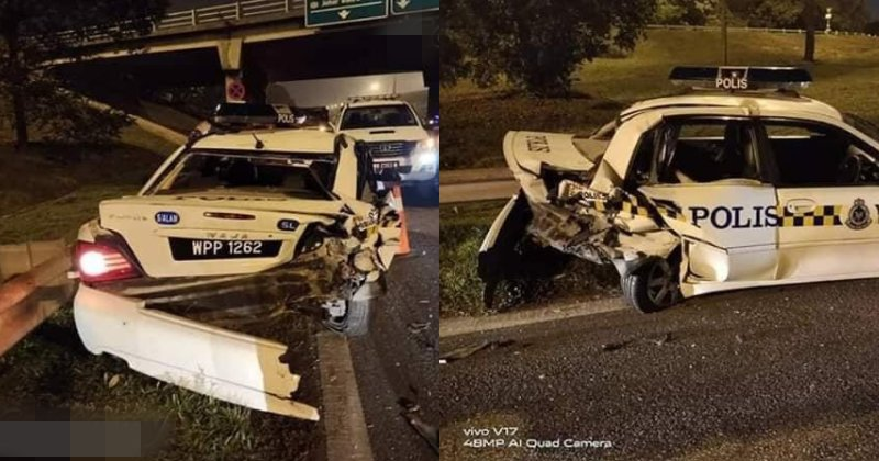 Reports Say That The Driver Was 'Not Drunk Enough' When Pummeling Into Traffic Police - WORLD OF BUZZ 3