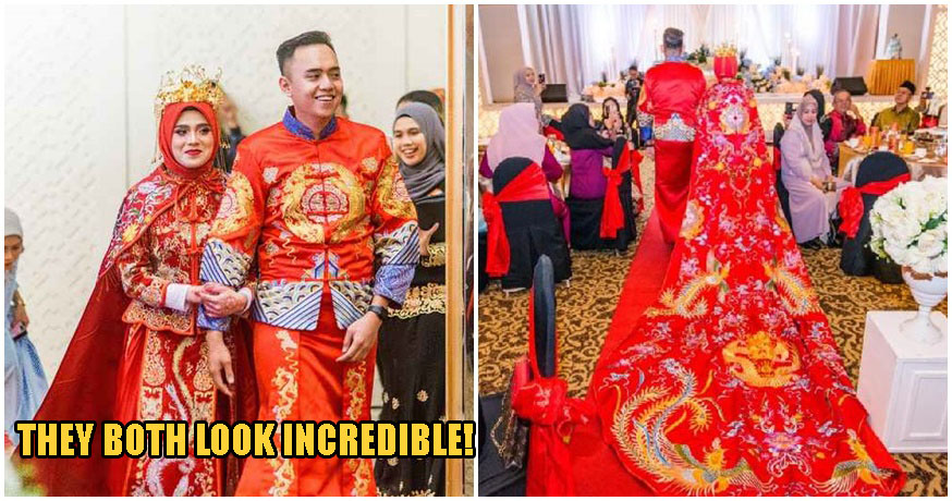 Sabah Malay Couple Dress In Chinese Robes For Wedding, Wins The Hearts of Malaysians Everywhere - WORLD OF BUZZ 3