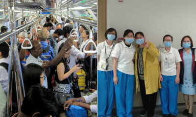 "S'pore Nurses Shunned For ""Spreading Virus"" After Taking The MRT Wearing Their Uniform - WORLD OF BUZZ 5"