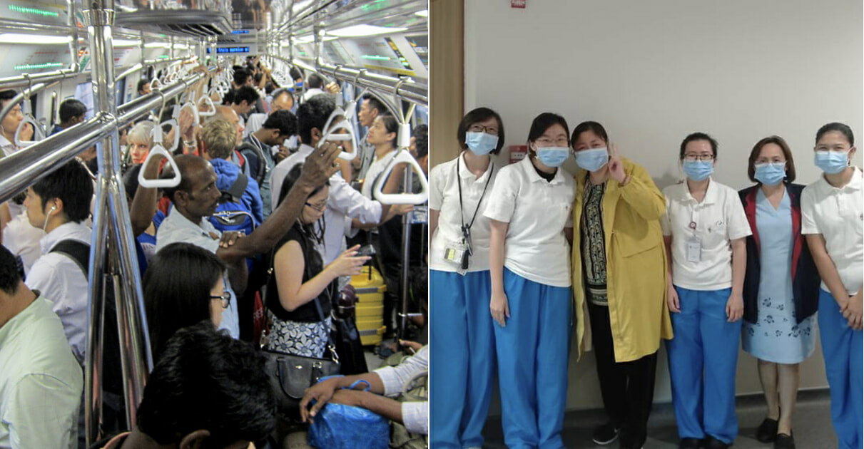 """S'pore Nurses Shunned For """"Spreading Virus"""" After Taking The MRT Wearing Their Uniform - WORLD OF BUZZ 5"""