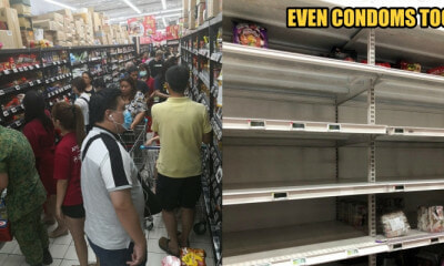 S'porean Supermarket Shelves Emptied After Response to Coronavirus Outbreak Raised to Code Orange - WORLD OF BUZZ 1