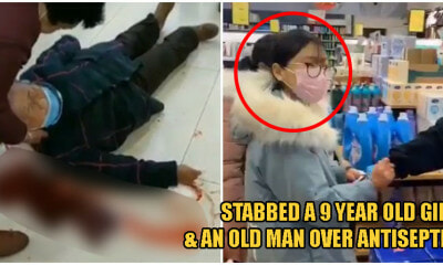 17yo Girl Stabs 71yo Elderly Man & 9yo Girl While Fighting The - WORLD OF BUZZ