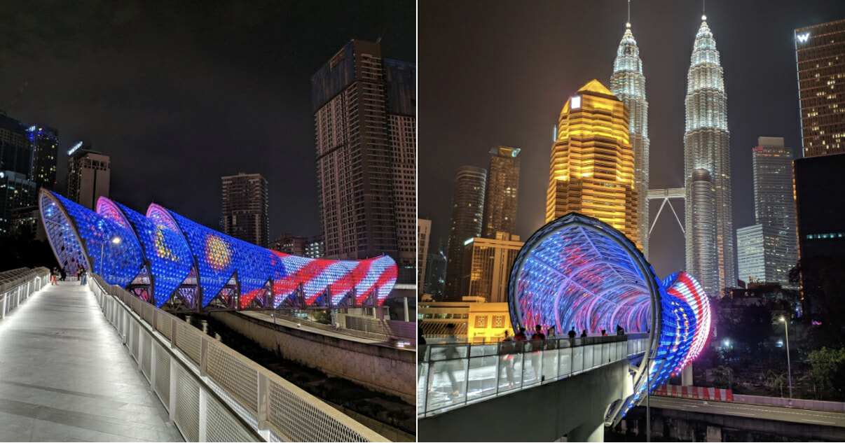 This Beautiful Bridge In Kl Is Now Open Connects Kampung Baru And Jalan Ampang World Of Buzz
