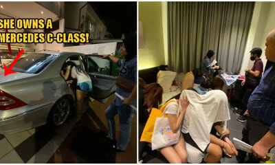 Think They're Poor? Penang Prostitute Who Got Arrested Actually Owns A Mercedes - WORLD OF BUZZ 6