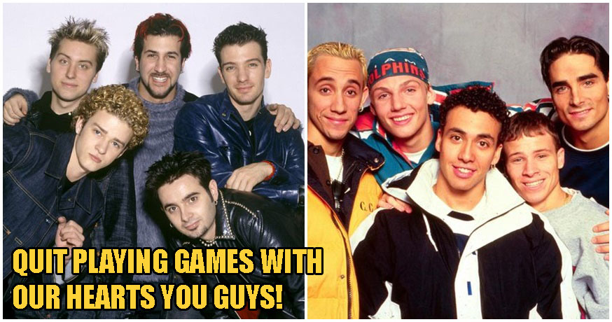 This Is NOT A Drill, Backstreet's Back & Plans To Tour With NSYNC To Make Your 90s Fantasy Come True! - WORLD OF BUZZ
