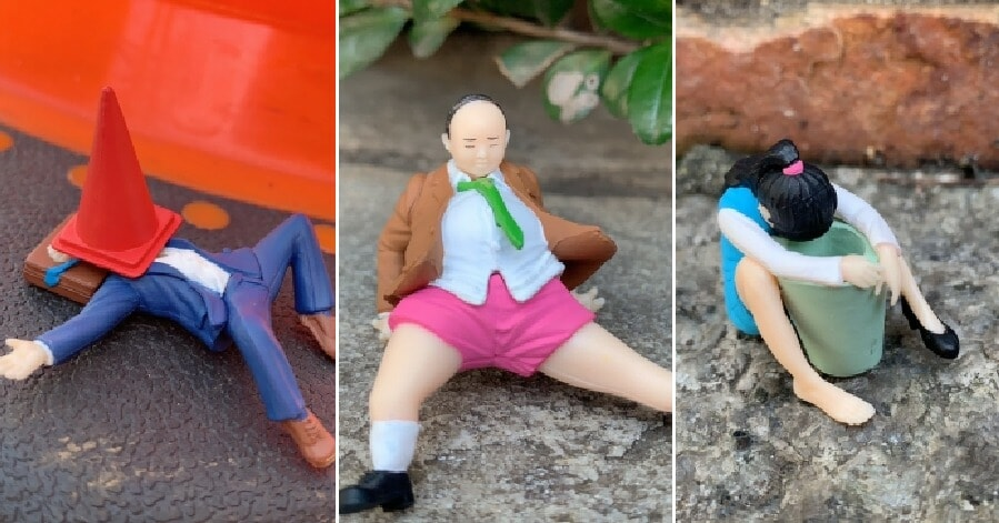 This New Line of Capsule Toys Showing Drunk People in Relatable Situations Are Hilariously Cute - WORLD OF BUZZ 9