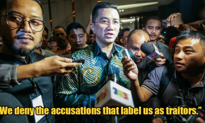 Azmin Ali & 10 Ex-PKR MPs Deny They Are Traitors, Puts the Blame On - WORLD OF BUZZ