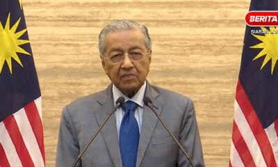 "Tun M: ""I Cannot Accept Umno Members in Unity Govt, That's Why I Resigned"" - WORLD OF BUZZ"