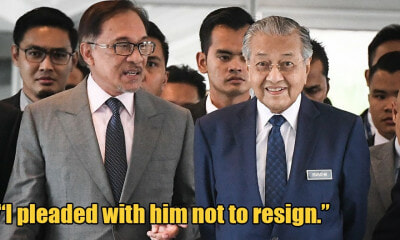 """Tun M Played No Part In Toppling PH, Will Never Work With Past Regime,"" Anwar Says - WORLD OF BUZZ 2"