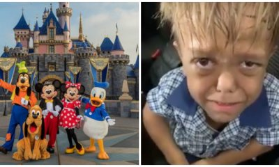 Update: Internet Raises RM500k For Bullied Boy With Dwarfism To Go To Disneyland After He Went Viral - WORLD OF BUZZ